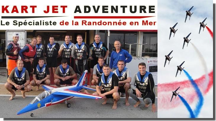 KART JET ADVENTURE - La Patrouille de France